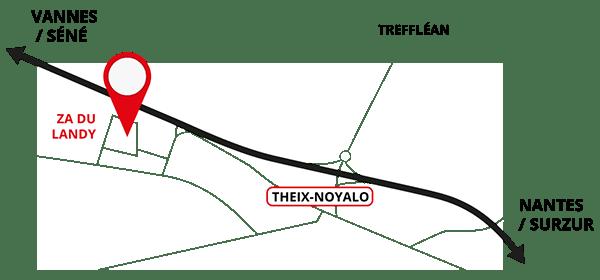Adresse Debosselage sans peinture Zone du Landy Theix-Noyalo